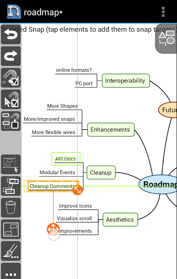 NodeScape Pro - Diagram Tool Screenshot 2