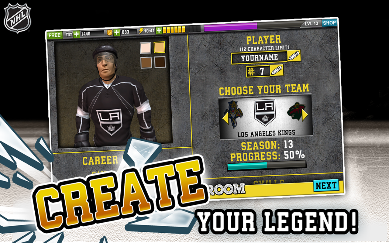 NHL Hockey Target Smash Screenshot 13