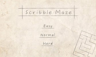 Screenshot of Scribble Maze