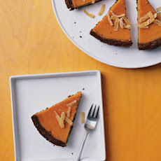 Gingered Butternut Squash Pie