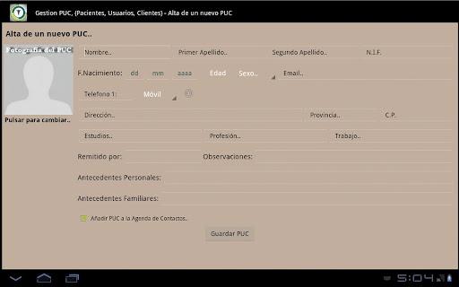Gestión PUC - Version Free
