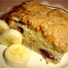 Banana Sour Cream Crumb Cake