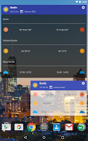 Screenshot of Blue Hour (Solar Calculator)