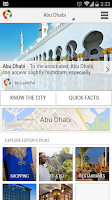Screenshot of Abu Dhabi City Guide