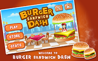 Screenshot of Burger Sandwich Dash -Fastfood