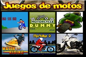 Screenshot of Juegos de Motos