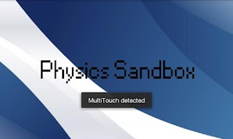 Screenshot of Physics Sandbox