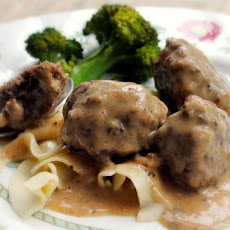 Swedish Meatballs With Secret Ingredient