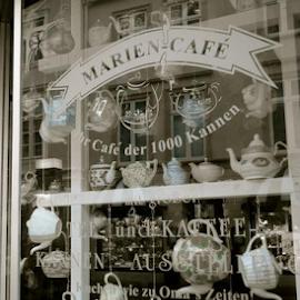 Tea & Coffee by Lony Meyer - Artistic Objects Cups, Plates & Utensils ( coffee kettle, tea kettle, coffee, tea )