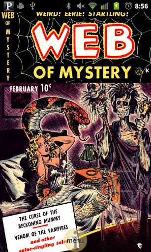 Web of Mystery Comic Book 1