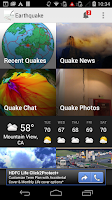Screenshot of Earthquake! News & Alerts App