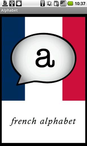French Alphabet Demo