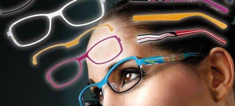 Wechselbrillen - Jeden Tag eine neue Brille!