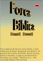 Screenshot of Forca Bíblica Free