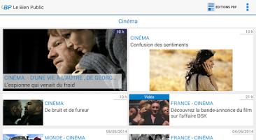 Screenshot of Le Bien Public
