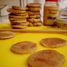 Cut-Out Cookies Made with Oat Flour