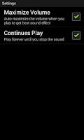 Screenshot of Away Repellent