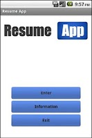 Screenshot of Resume App Pro HD