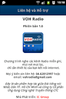 Screenshot of Radio VOH