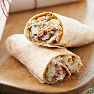 Chicken Coleslaw Wrap Recipes