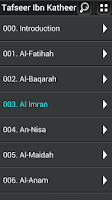 Screenshot of Al-Quran Tafsir Ibne Katheer