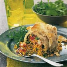Prawn And Couscous Filo Crown