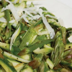 Shaved Asparagus Salad with Pecorino