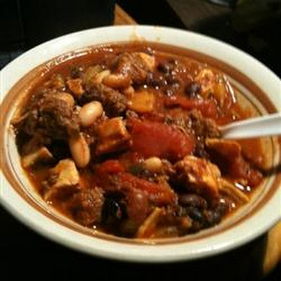 Jamaican Me Crazy Chili