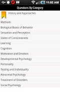 Screenshot of meStudying: AP Psychology