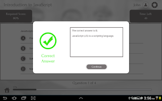 Screenshot of Learn JavaScript