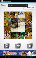 Screenshot of Jungle Cat Free Puzzles