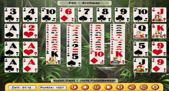 Absolute Solitaire pro (engl.) - screenshot