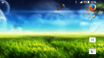Screenshot of Fantasy World Xperien Theme