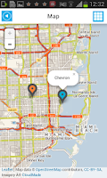 Screenshot of Florida Offline Road Map