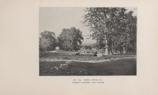 Illustration of <i>Summer—Sunshine and Shadow</i> by George Inness.