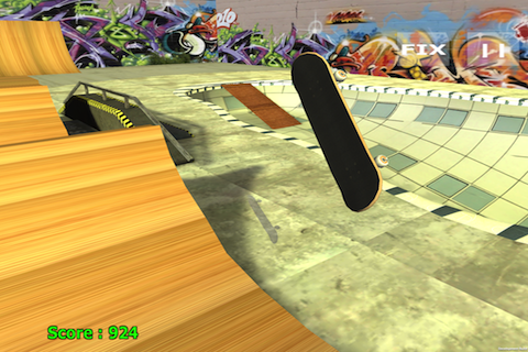 Skateboard + - screenshot