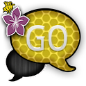 GO SMS THEME/PurpleBee icon