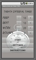 Screenshot of Interval Timer PRO