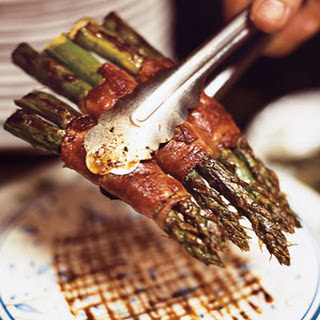 Seared Prosciutto-Wrapped Asparagus
