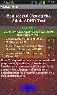 Adult ADHD Test- screenshot thumbnail