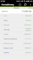 Screenshot of HomeMoney