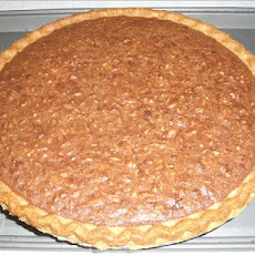 Fudge Butter Pecan Pie