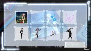 Screenshot of ギルティクラウン ARアプリ