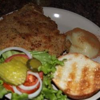 Breaded Pork Escalope Sandwich
