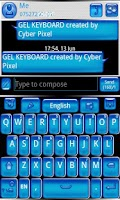 Screenshot of GEL GO Keyboard