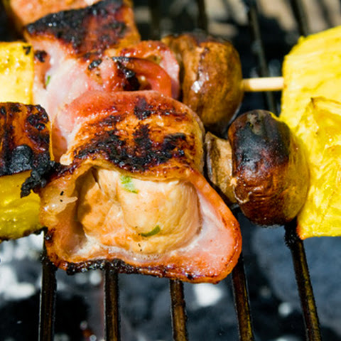 Bacon-Wrapped Chicken Kabobs