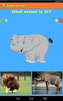 Screenshot of Animals for Kids