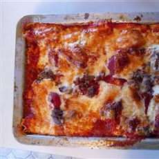 Grandma's Best Ever Sour Cream Lasagna