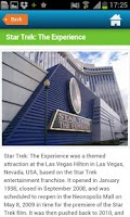 Screenshot of Las Vegas Guide, hotels & map