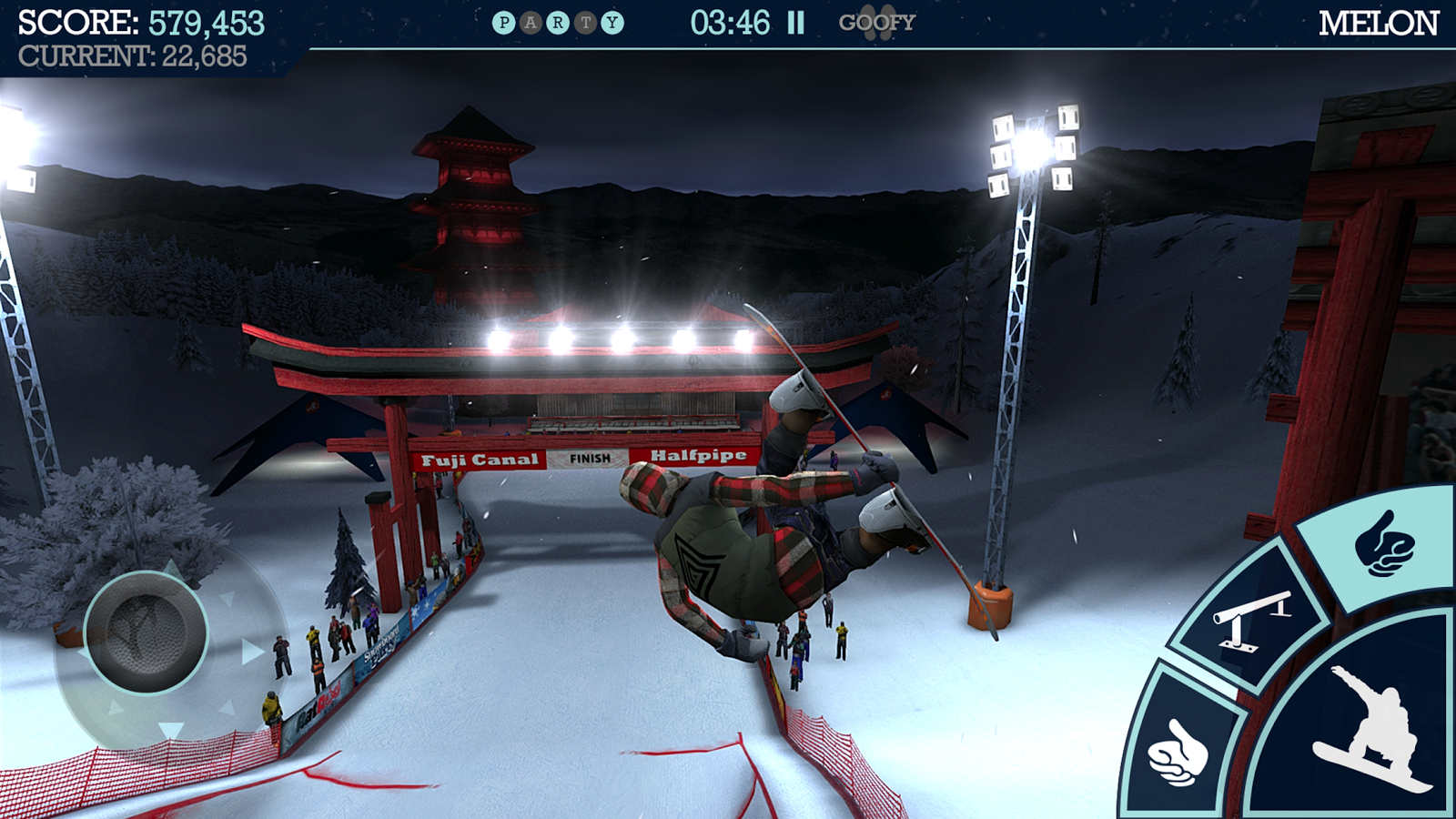 Snowboard Party Screenshot 0